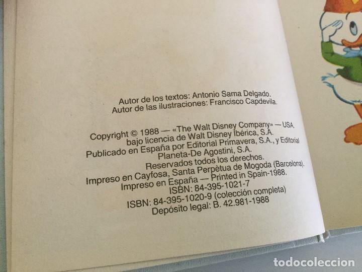 Libros antiguos: Walt Disney – Biblioteca de los jóvenes castores Nº 1 – Planeta de Agostini – 1988 - Foto 5 - 157334186
