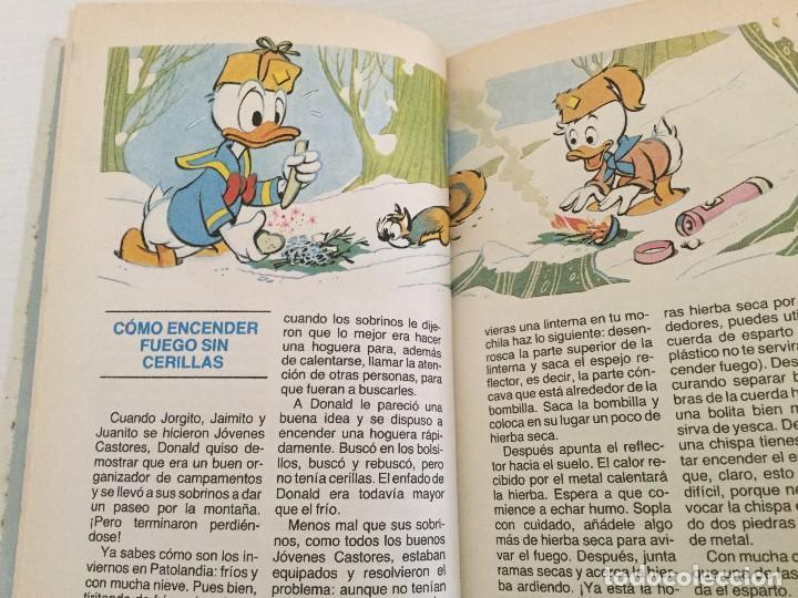 Libros antiguos: Walt Disney – Biblioteca de los jóvenes castores Nº 1 – Planeta de Agostini – 1988 - Foto 6 - 157334186