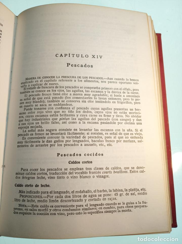 Libros antiguos: Enciclopedia culinaria. La Cocina completa. Espasa-Calpe. María Mestayer de Echagüe. 1982 - Foto 9 - 157364386