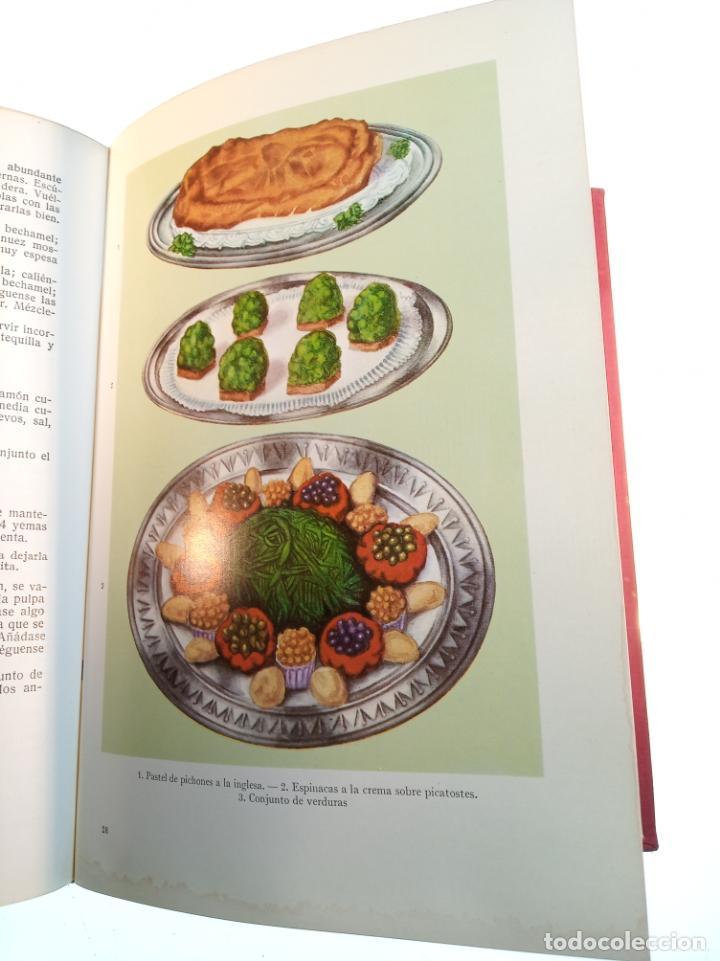 Libros antiguos: Enciclopedia culinaria. La Cocina completa. Espasa-Calpe. María Mestayer de Echagüe. 1982 - Foto 10 - 157364386