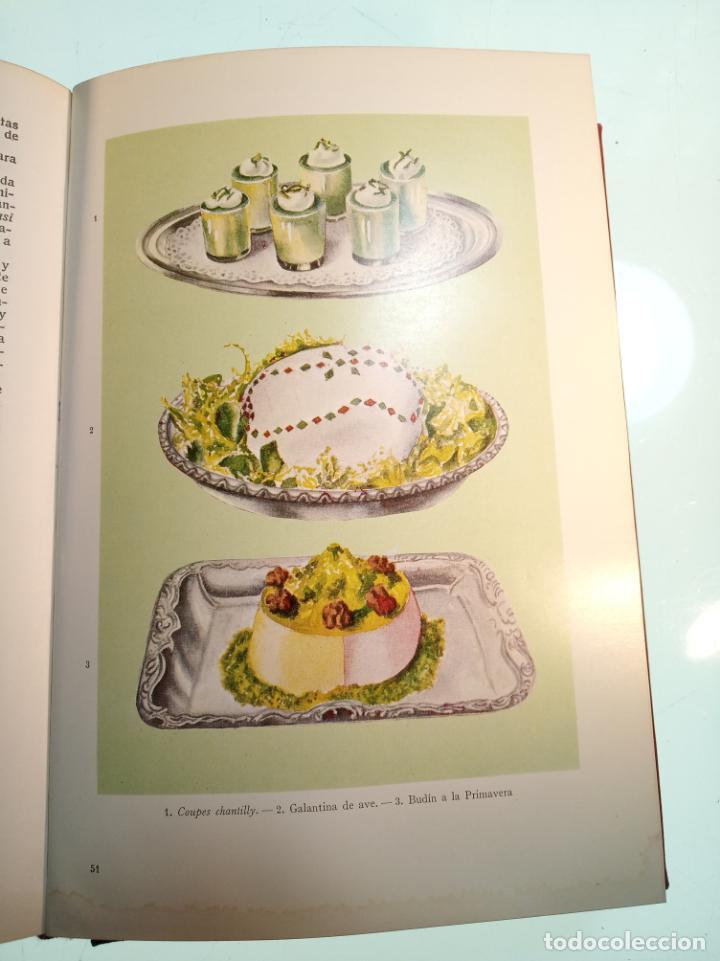 Libros antiguos: Enciclopedia culinaria. La Cocina completa. Espasa-Calpe. María Mestayer de Echagüe. 1982 - Foto 12 - 157364386