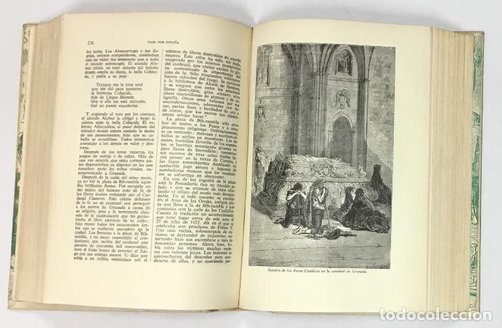 Libros antiguos: VIAJE POR ESPAÑA. - DAVILLIER, Charles. Con ilustraciones de Gustavo Doré. Edición numerada. - Foto 4 - 123180508