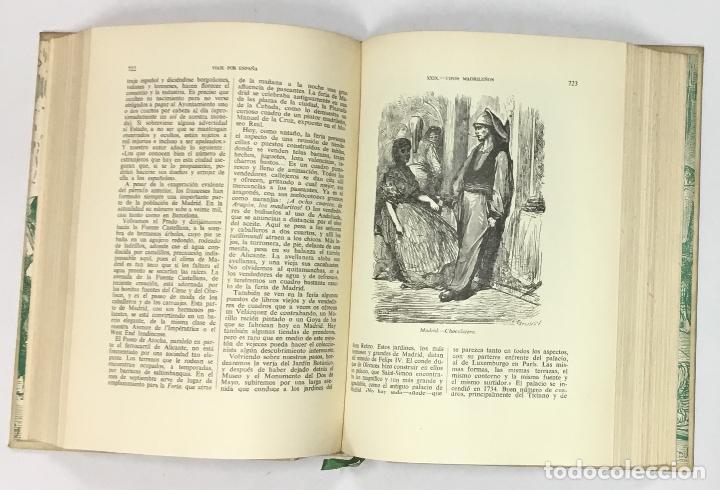 Libros antiguos: VIAJE POR ESPAÑA. - DAVILLIER, Charles. Con ilustraciones de Gustavo Doré. Edición numerada. - Foto 8 - 123180508