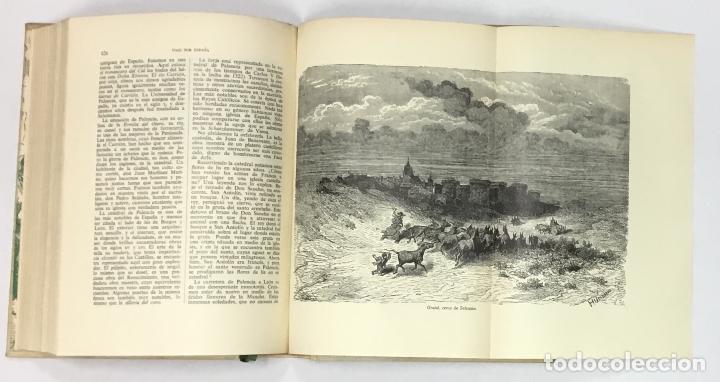 Libros antiguos: VIAJE POR ESPAÑA. - DAVILLIER, Charles. Con ilustraciones de Gustavo Doré. Edición numerada. - Foto 9 - 123180508