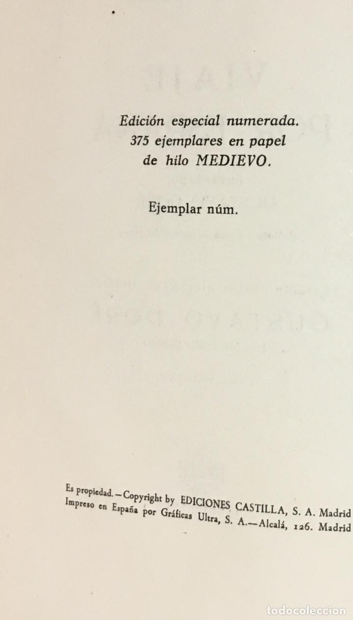 Libros antiguos: VIAJE POR ESPAÑA. - DAVILLIER, Charles. Con ilustraciones de Gustavo Doré. Edición numerada. - Foto 11 - 123180508