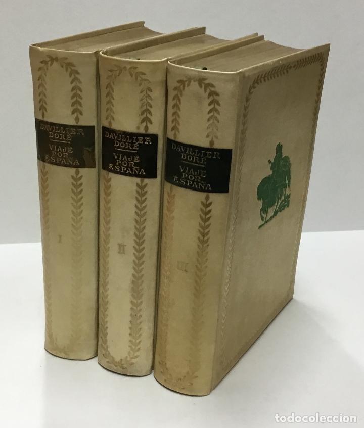 VIAJE POR ESPAÑA. - DAVILLIER, CHARLES. CON ILUSTRACIONES DE GUSTAVO DORÉ. EDICIÓN NUMERADA. (Libros Antiguos, Raros y Curiosos - Cocina y Gastronomía)