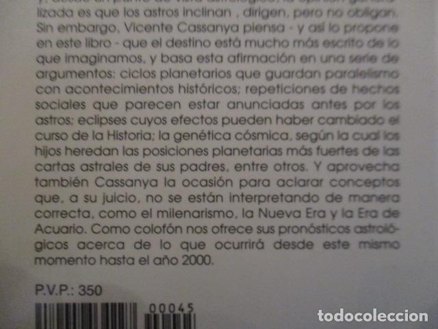 Libros antiguos: EL DESTINO ESTÁ ESCRITO - Cassanya, Vicente / MUY BUEN ESTADO - Foto 9 - 157501686