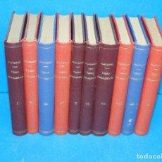 Libros antiguos: VIDAS PARALELAS.-(10 VOL. OBRA COMPLETA).--PLUTARCO.1919/20/21. Lote 157653550