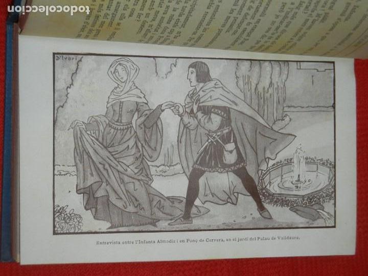 Libros antiguos: VASSALL D'AMOR, DE ALFONS ROURE - IL·LUSTRACIONS JOAN D'IVORI 1924 - Foto 3 - 157716234