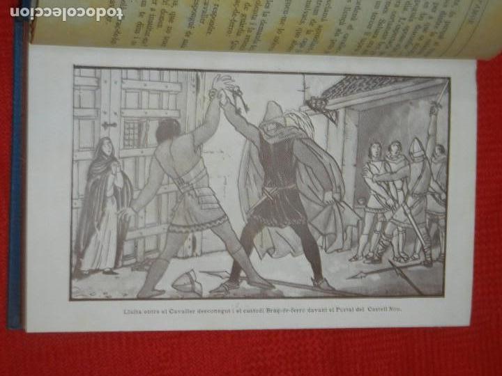 Libros antiguos: VASSALL D'AMOR, DE ALFONS ROURE - IL·LUSTRACIONS JOAN D'IVORI 1924 - Foto 4 - 157716234