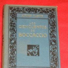 Libros antiguos: LOS CIEN CUENTOS DE BOCCACCIO - TOMO CUARTO - LUIS OBIOLS - ED.MAUCCI C1910. Lote 157721934