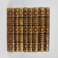 Libros antiguos: L-5323. ENCICLOPEDIA HISTORIA NATURAL. JUAN VILANOVA. 1872-1876. 8 TOMOS.. Lote 157727258