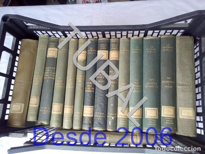 TUBAL BIBLIA COMPLETISIMA 15 VOLS CATALAN 1928 ALPHA FUNDACIO BIBLICA CATALANA (Libros Antiguos, Raros y Curiosos - Bellas artes, ocio y coleccionismo - Otros)