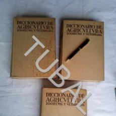 Libros antiguos: TUBAL DICCIONARIO DE AGRICULTURA 3 TOMOS COMPLETISIMO ANTIGUO. Lote 171411075