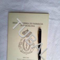 Libros antiguos: TUBAL DISCURSO MIQUEL YLLA-CATALA VIC. Lote 157756750