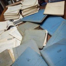 Libros antiguos: ENORME LOTE DE DOCUMENTACIÓN DE ESCUELA ESPECIAL DE INGENIEROS DE CAMINOS, CANALES Y PUERTOS.AÑOS 30. Lote 157793562