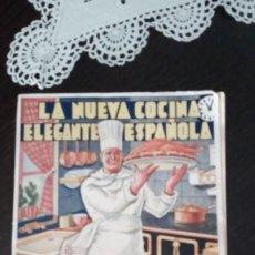 Libros antiguos: LA NUEVA COCINA ELEGANTE ESPAÑOLA, DE IGNACIO DOMÉNECH. Lote 157844470