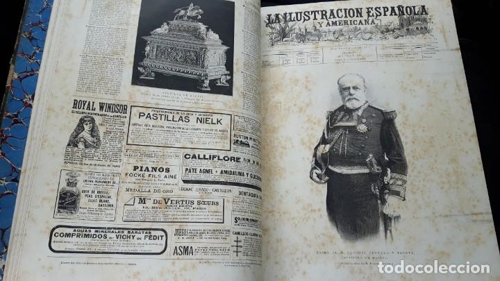Libros antiguos: La Ilustración Española y Americana tomo I de enero a junio 1893 - Foto 5 - 157900378