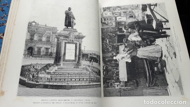 Libros antiguos: La Ilustración Española y Americana tomo I de enero a junio 1893 - Foto 6 - 157900378