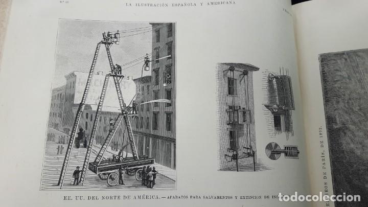 Libros antiguos: La Ilustración Española y Americana tomo I de enero a junio 1893 - Foto 12 - 157900378