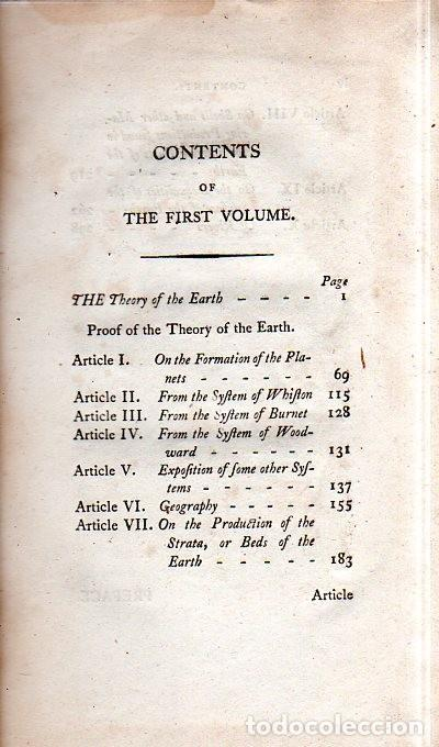 Libros antiguos: BUFFON´S NATURAL HIFTORY. BARR´S BUFFON. A THEORY OF THE EARTH A GENERAL HISTORY OF MAN.1797. VOL I. - Foto 5 - 158014050