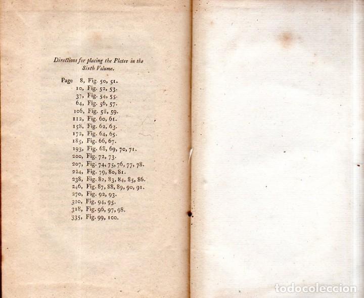 Libros antiguos: BUFFON´S NATURAL HIFTORY. BARR´S BUFFON. A THEORY OF THE EARTH A GENERAL HISTORY OF MAN.1797. VOL VI - Foto 24 - 158026886