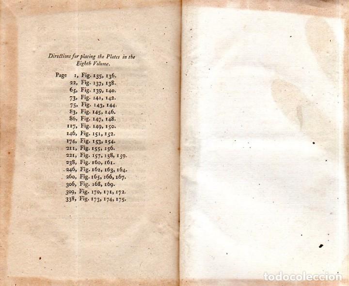 Libros antiguos: BUFFON´S NATURAL HIFTORY. BARR´S BUFFON.A THEORY OF THE EARTH A GENERAL HISTORY OF MAN.1797.VOL VIII - Foto 24 - 158033218