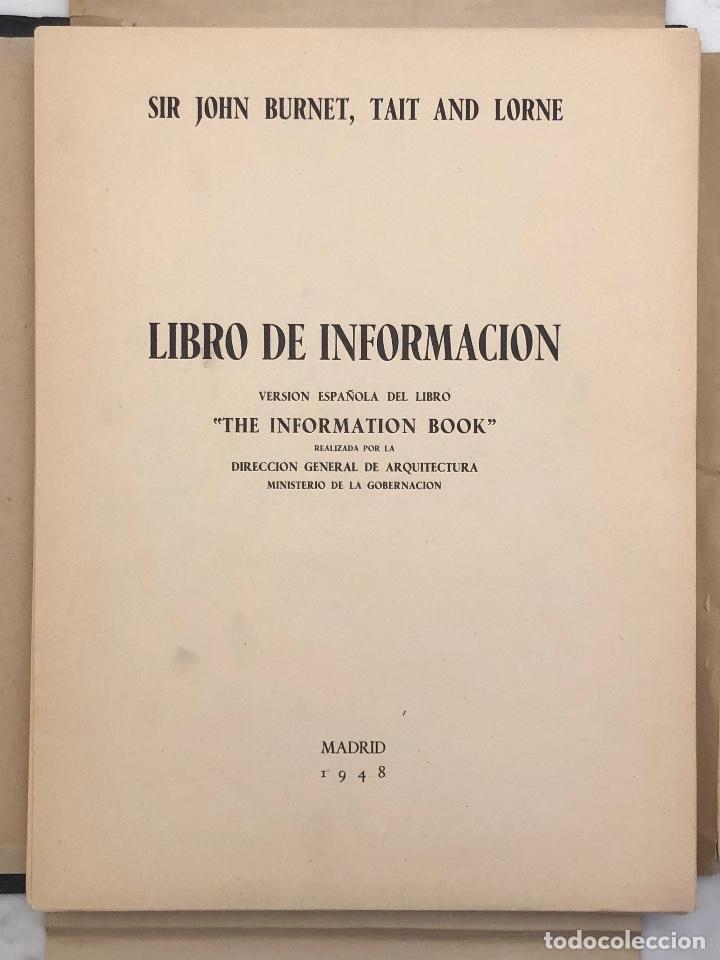Libros antiguos: LIBRO DE INFORMACION(10€) - Foto 3 - 115421943