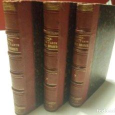 Libros antiguos: POESÍA Y ARTE DE LOS ÁRABES EN ESPAÑA Y SICILIA.. Lote 158165910