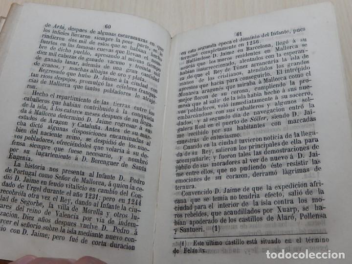 Libros antiguos: Compendio de Geografía e Historia de las Baleares.1866 - Foto 5 - 158241230