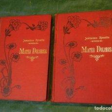 Libros antiguos: ,MATER DOLOROSA, DE JERONIMO ROVETTA - 2 VOLS. ED.MAUCCI 1906. Lote 158242374