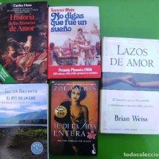Libros antiguos: LOTE 5 LIBROS - HISTORIA DE LAS HISTORIAS, NO DIGAS QUE FUE UN SUEÑO, TE DI LA VIDA ENTERA, JAVIER R. Lote 158337774