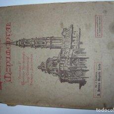 Livres anciens: ZARAGOZA MONUMENTAL / ZARAGOZA. Lote 158363866