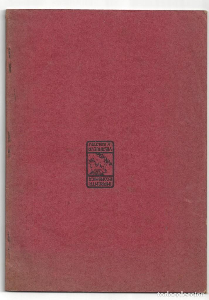 Libros antiguos: ESTATUTOS DE LA SOCIEDAD GREMIO DE PESCADORES. VILLANUEVA Y GELTRÚ- 1919 - Foto 2 - 158425262