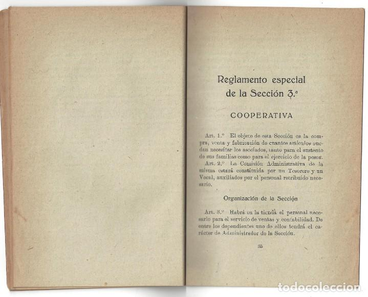 Libros antiguos: ESTATUTOS DE LA SOCIEDAD GREMIO DE PESCADORES. VILLANUEVA Y GELTRÚ- 1919 - Foto 5 - 158425262