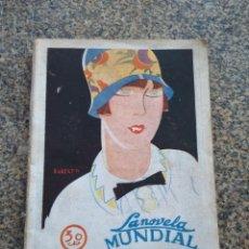 Libros antiguos: ALMA Y CUERPO -- PEDRO DE REPIDE -- LA NOVELA MUNDIAL - MADRID 1927 -- . Lote 158509094