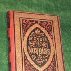 Libros antiguos: MARTI GENIS Y AGUILAR - NOVELAS SOTA UN TAROT, MERCE DE BELLAMATA... - ESTAMPA RENAIXENSA 1882. Lote 158526974