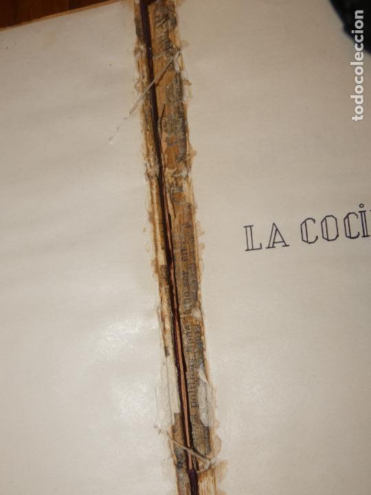 Libros antiguos: La cocina casera, recetas recopiladas del periodico Barcelonés ,El día Gráfico.Barcelona 1931 - Foto 3 - 158532526