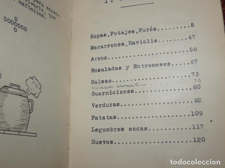Libros antiguos: La cocina casera, recetas recopiladas del periodico Barcelonés ,El día Gráfico.Barcelona 1931 - Foto 4 - 158532526