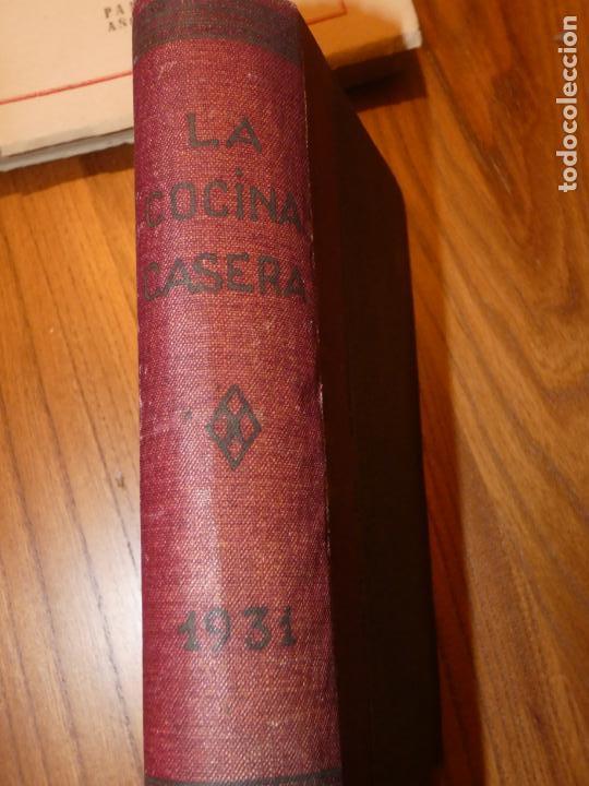 Libros antiguos: La cocina casera, recetas recopiladas del periodico Barcelonés ,El día Gráfico.Barcelona 1931 - Foto 8 - 158532526