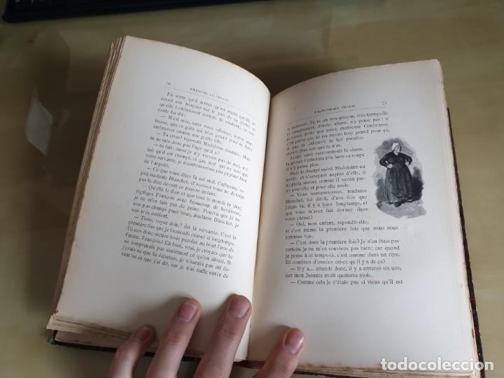 Libros antiguos: LIBRO NOVELA FRANÇOIS LE CHAMPI - GEORGE SAND - IMPRESO EN FRANCÉS - AÑO 1888 / SIGLO XIX - Foto 9 - 158700886