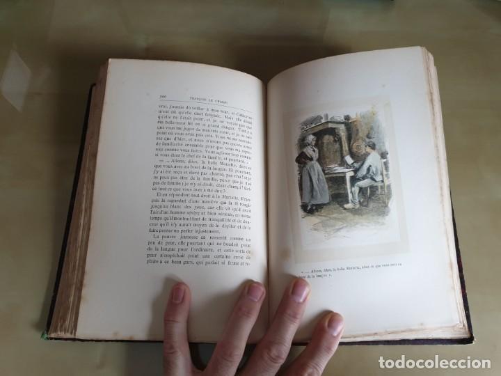 Libros antiguos: LIBRO NOVELA FRANÇOIS LE CHAMPI - GEORGE SAND - IMPRESO EN FRANCÉS - AÑO 1888 / SIGLO XIX - Foto 10 - 158700886