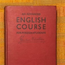Libros antiguos: ENGLISH COURSE FOR FOREIGN STUDENTS(10€). Lote 158749294