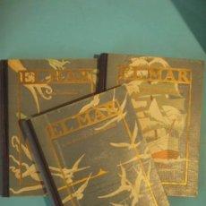Libros antiguos: EL MAR (3 TOMOS) - CAPITAN ARGUELLO - EDITORIAL SEIX BARRAL, 1929-36 (TAPA DURA, BUEN ESTADO). Lote 158781646