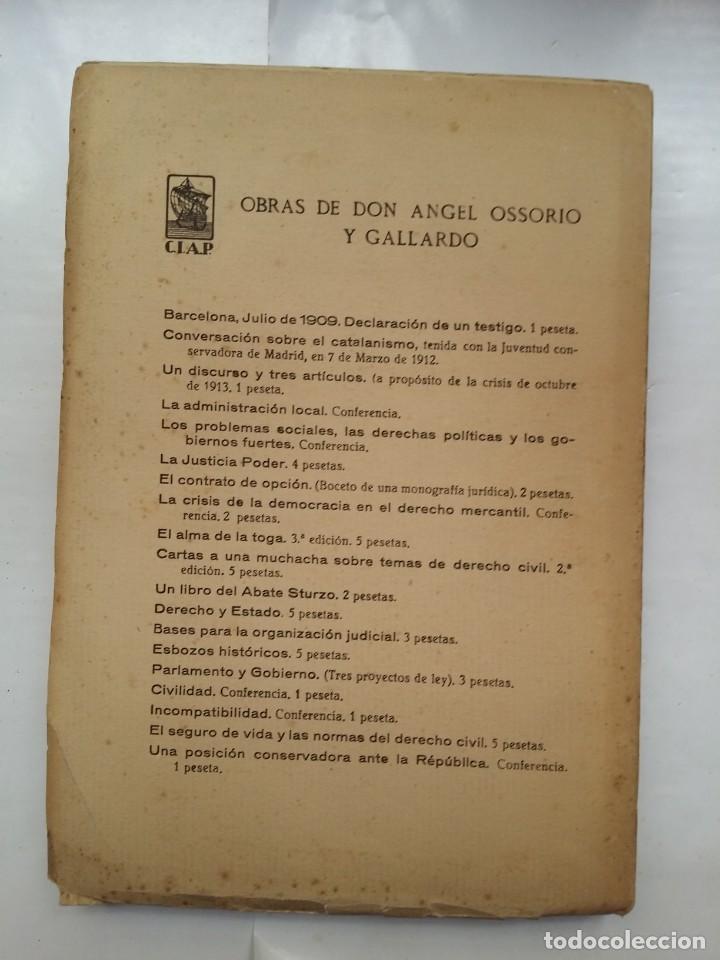 Libros antiguos: HISTORIA DEL PENSAMIENTO POLITICO CATALAN DURANTE LA GUERRA DE ESPAÑA CON LA REP. FRANCESA 1793-1796 - Foto 2 - 158840578