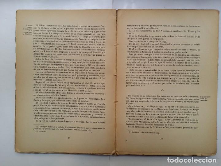 Libros antiguos: HISTORIA DEL PENSAMIENTO POLITICO CATALAN DURANTE LA GUERRA DE ESPAÑA CON LA REP. FRANCESA 1793-1796 - Foto 4 - 158840578