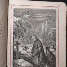Libros antiguos: EL CURA DE ALDEA. E. PÉREZ ESCRICH. 1861. 12 GRABADOS. TOMO 1.. Lote 158868306