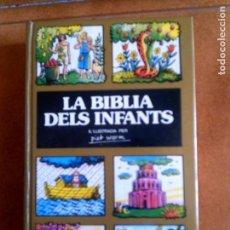 Libros antiguos: LIBRO LA BIBLIA DEL INFANTS DE PLAZA JANES AÑO 1978 ILUSTRADO . Lote 158894006