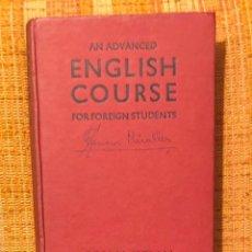 Libros antiguos: ADVANCED ENGLISH COURSE(10€). Lote 158941050