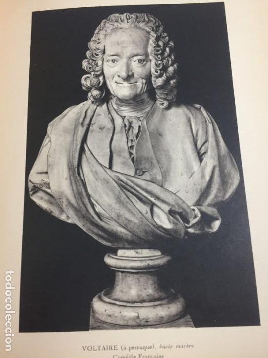 Libros antiguos: Escultura Exposition du centenaire de Houdon 1928 Galeries Buvelot en Francés. Ilustrado - Foto 2 - 159112370
